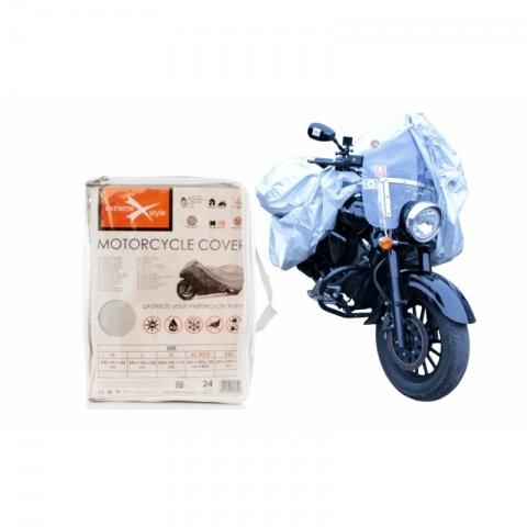 POKROWIEC MOTOCYKLOWY ROZMIAR XL  Wymiary  265 x 105 x 125 cm