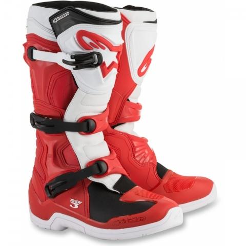 Buty Alpinestars Tech 3 Buty motocrossowe r. 44,5 Czerwone-białe