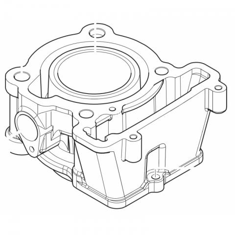 CYLINDER RS125 SM125 ACE