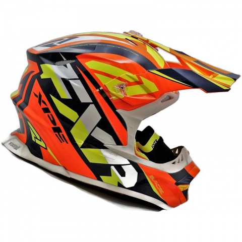 FXR KASK BOOST BLADE THROTTLE HELMET ENDURO XS
