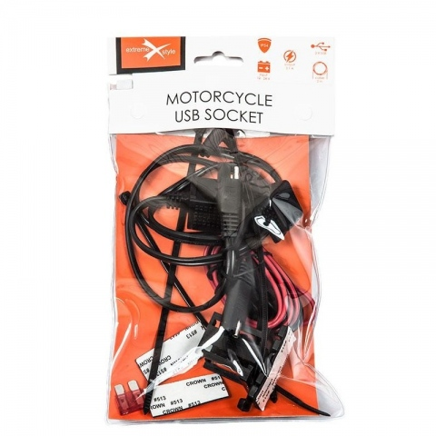 GNIAZDO USB EXTREME MOTOCYKLOWE MUS08