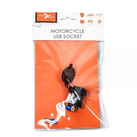 GNIAZDO USB EXTREME MOTOCYKLOWE MUS12