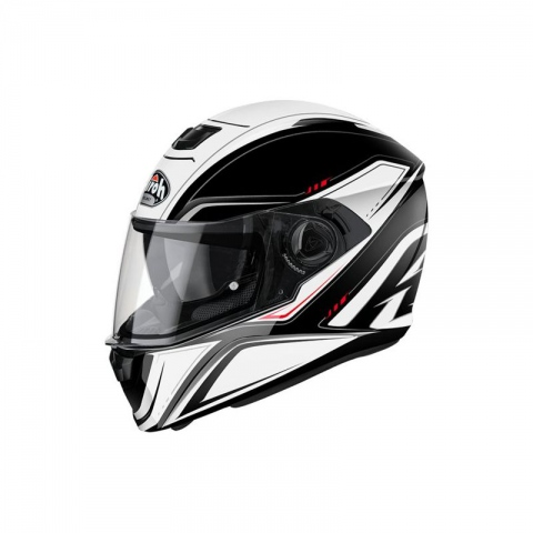 KASK AIROH STORM SPRINTER WHITE GLOSS L