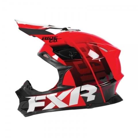 KASK FXR MX RACE BLADE 2.0 RED ROZMIAR L