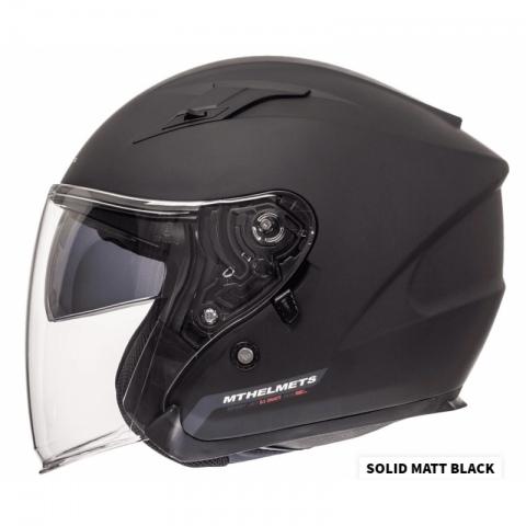 KASK MOTOCYKLOWY Mt Helmets Avenue SV Solid  ROZMIAR - M