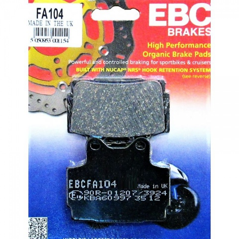 KLOCKI HAMULCOWE EBC FA104