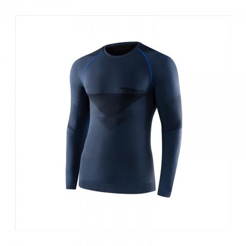 Koszulka termoaktywna REBELHORN z długim rękawem Freeze KOLOR- grey/black ROZMIAR L
