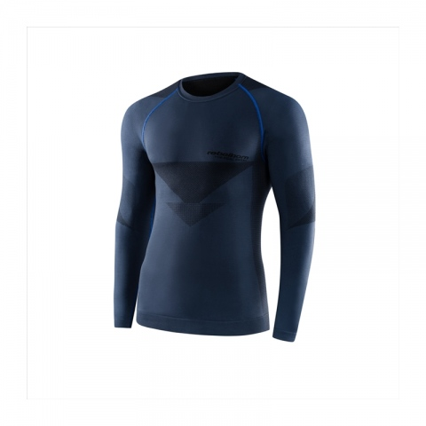 Koszulka termoaktywna REBELHORN z długim rękawem Freeze KOLOR- grey/black ROZMIAR M