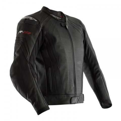 Motocyklowa Kurtka Skórzana RST R-18 CE Black  rozmiar XXL