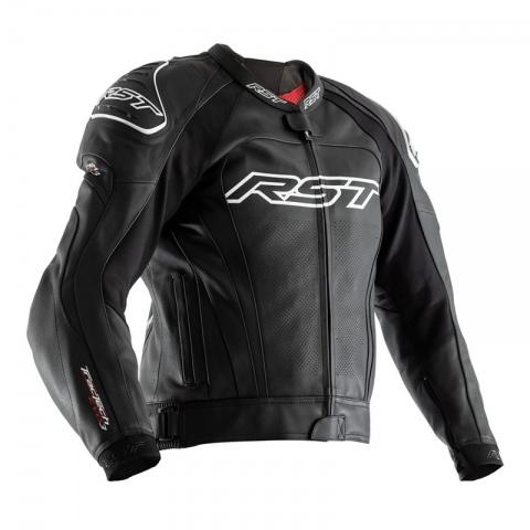 Motocyklowa Kurtka Skórzana RST Tractech Evo III CE Black (2051) rozmiar L