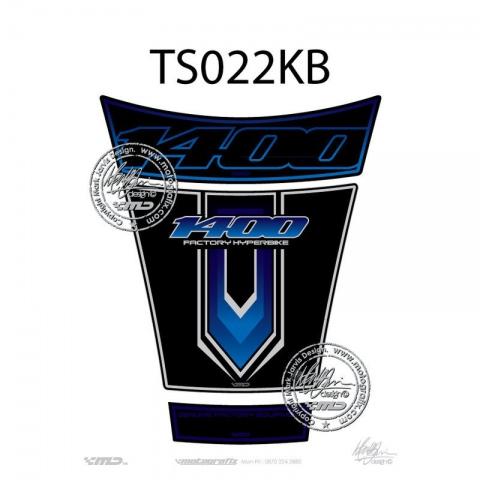 MOTOGRAFIX TANKPAD Suzuki GSX1400 01-08