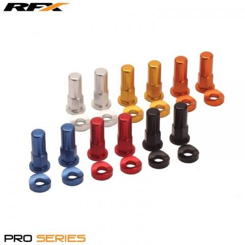 Nakrętki trzymaka pomarańczowe RFX