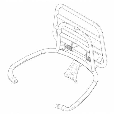 Rear luggage rack-1B002131