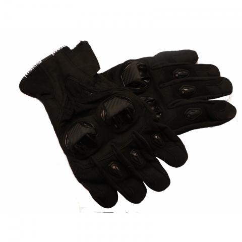 Rękawice motocyklowe Draft M-1651 czarne  ROZMIAR L