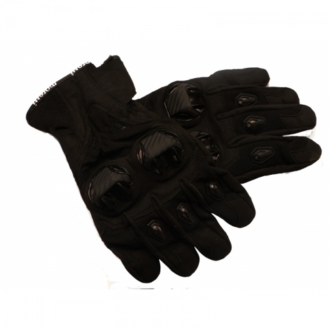 Rękawice motocyklowe Draft M-1651 czarne  ROZMIAR M