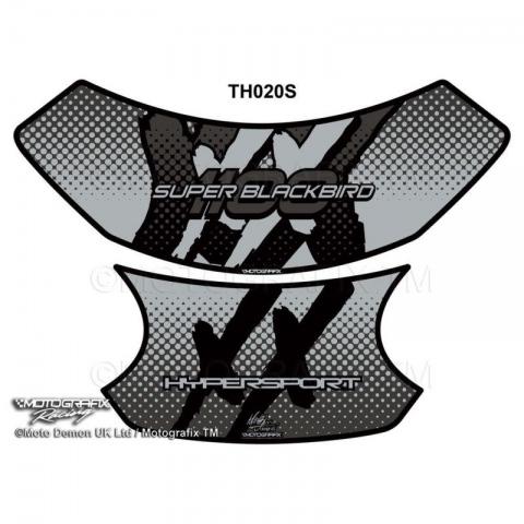 Sonstige Motorräder HONDA CBR 1100 XX Blackbird MOTOGRAFIX 3d GEL Tank Pad protector th020ks Motorrad-Tuning & -Styling