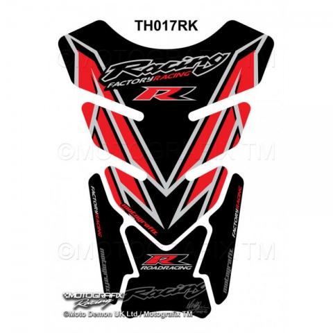 TANKPAD Motografix Honda CBR 600 900 1000 RR RED BLACK