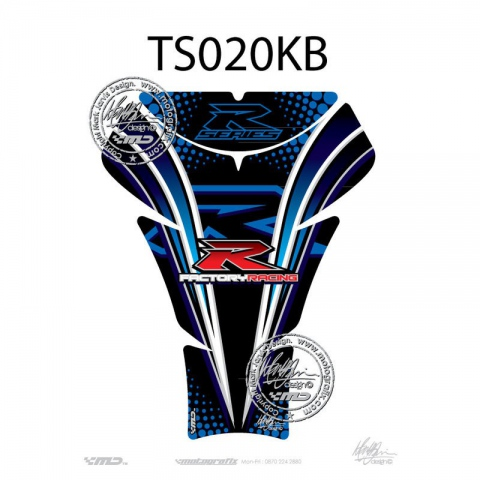TANKPAD MOTOGRAFIX Suzuki GSXR 600 750 1000 05 - 08