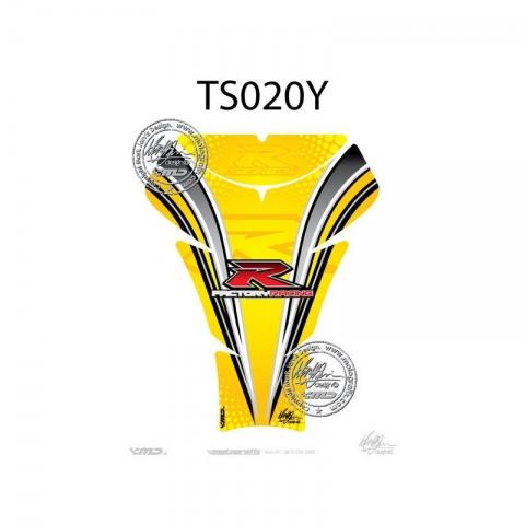 TANKPAD Suzuki GSXR 600 750 1000 05 - 08 Yellow