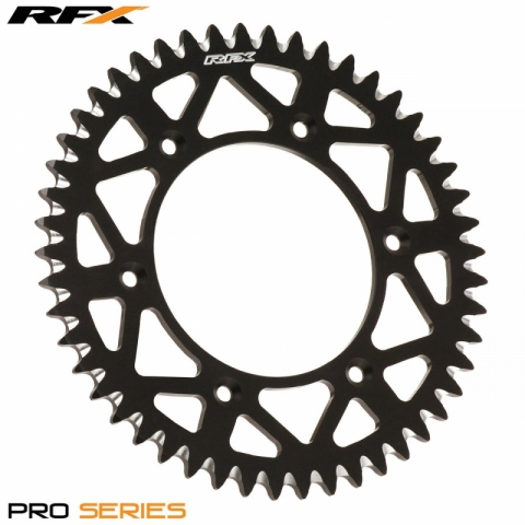 Tylne zębatki RFX Pro Series Elite RFX Pro Series Elite Rear Sprocket ROZMIAR 50 Yamaha YZ 125 250 99-17 YZF 250 450 99-17  WRF 250 - 450 00 - 18  INCLUDES YZF 400 / 426  WRF 400 / 426